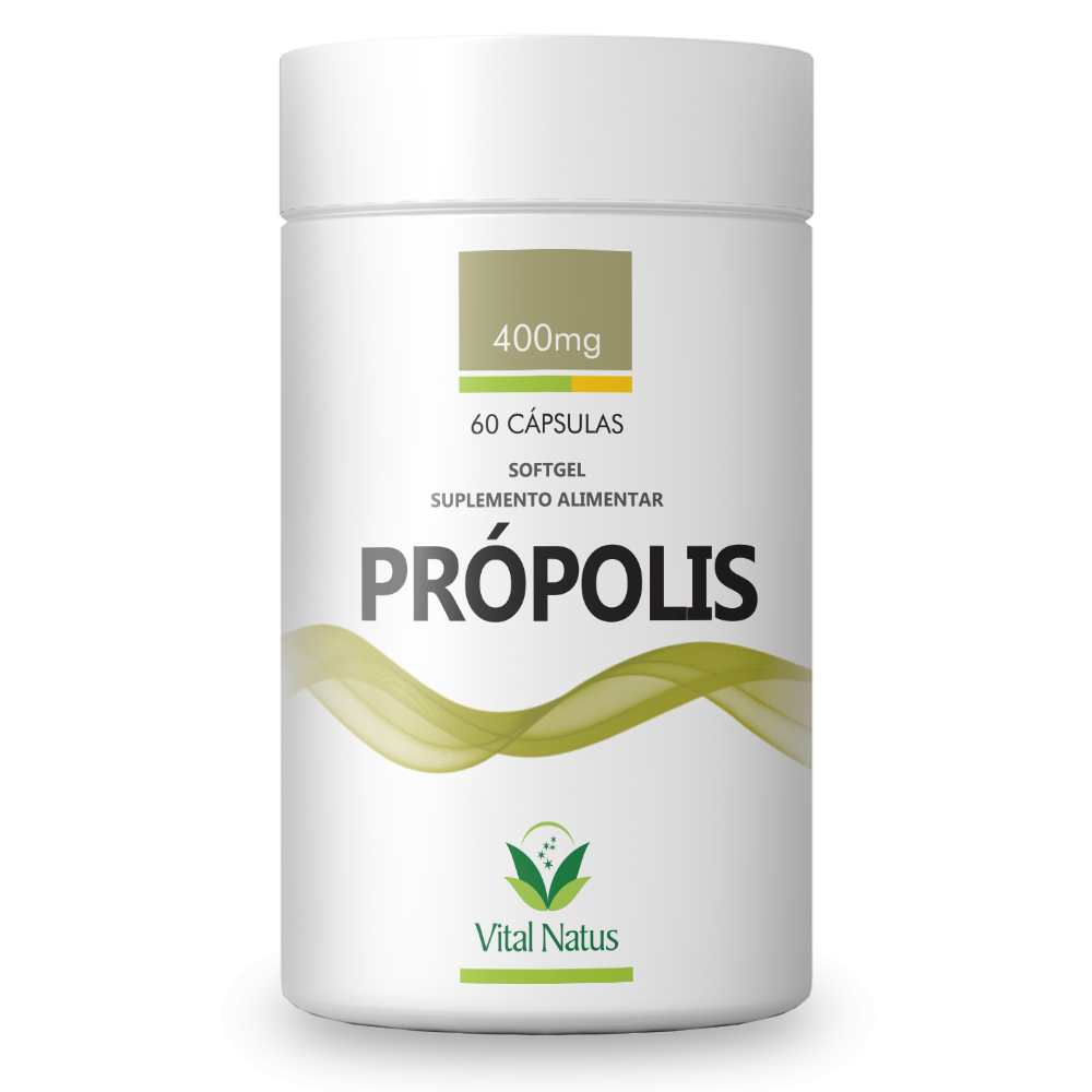 PROPOLIS 60 CAPSULAS SOFTGEL 400MG