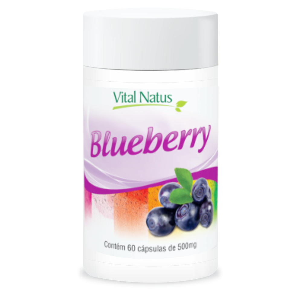 BLUEBERRY 500MG 60 CÁPSULAS