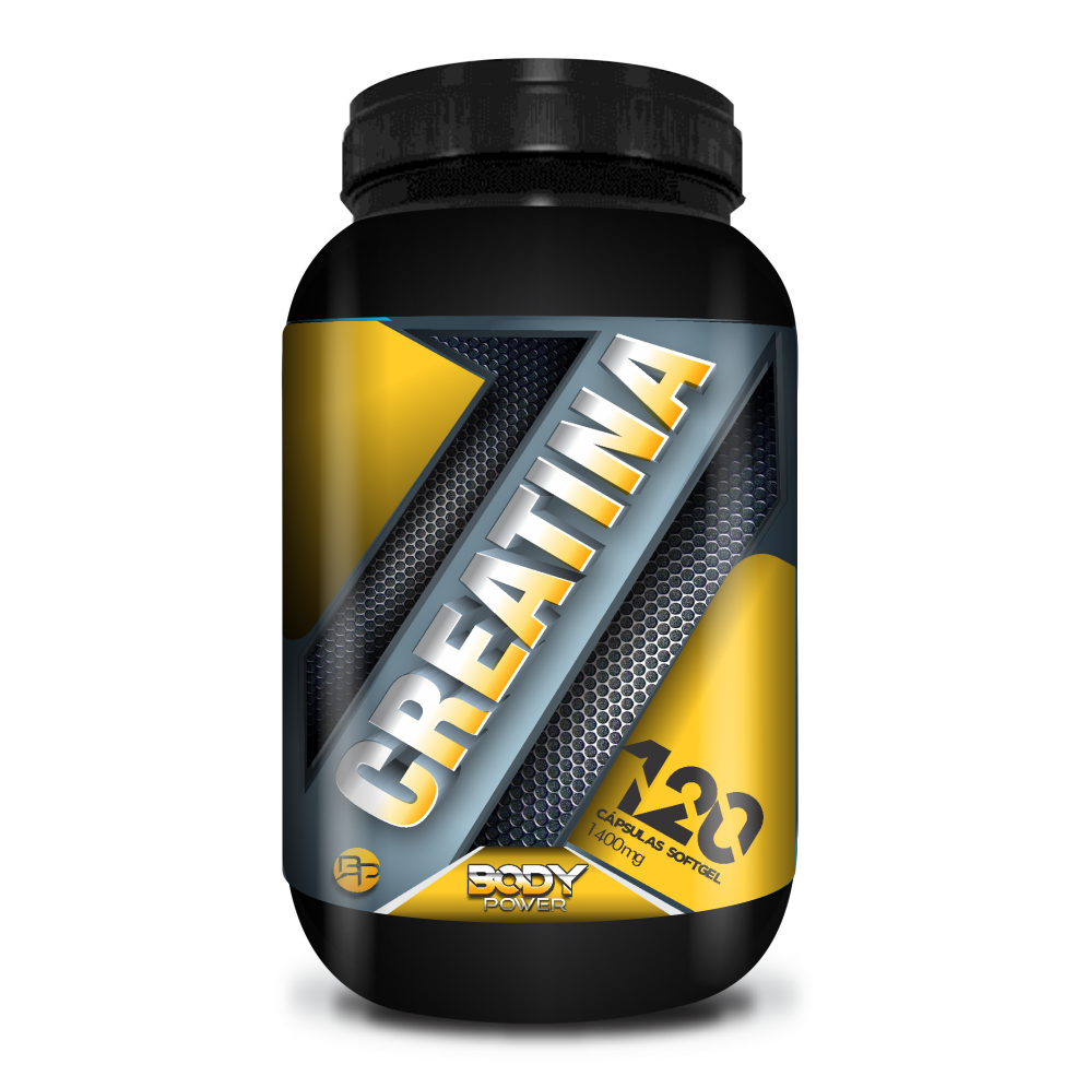 CREATINA 1100mg - BODY POWER - CÁPSULA SOFGEL