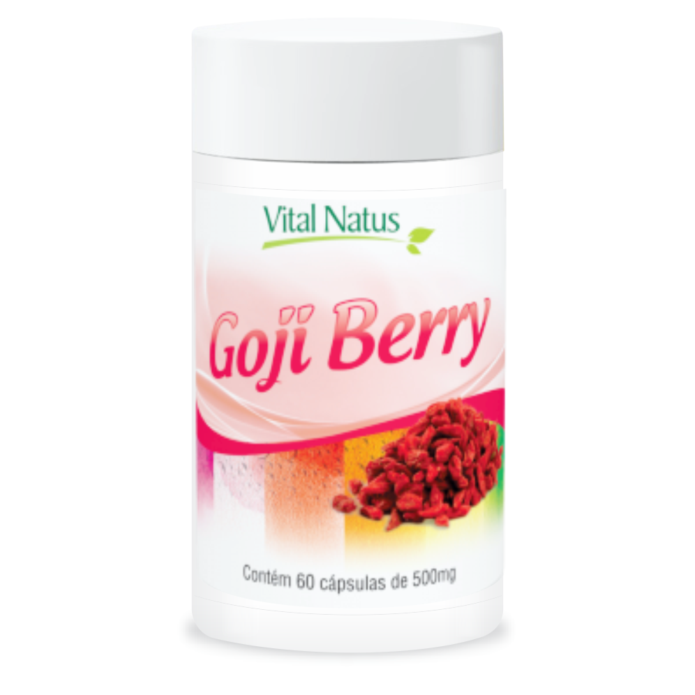 GOJIBERRY 500MG 60 CÁPSULAS