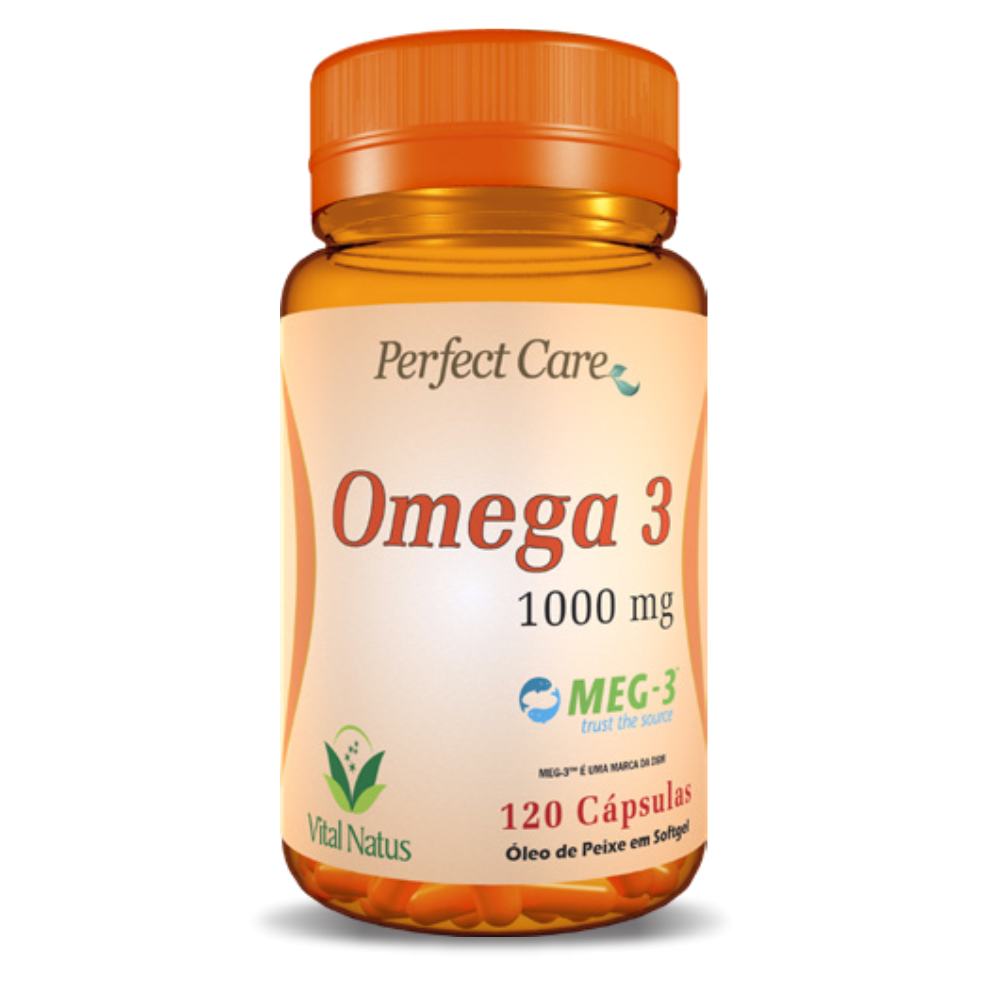ÔMEGA 3 1G C/ 120 CÁPSULAS PERFECT CARE -