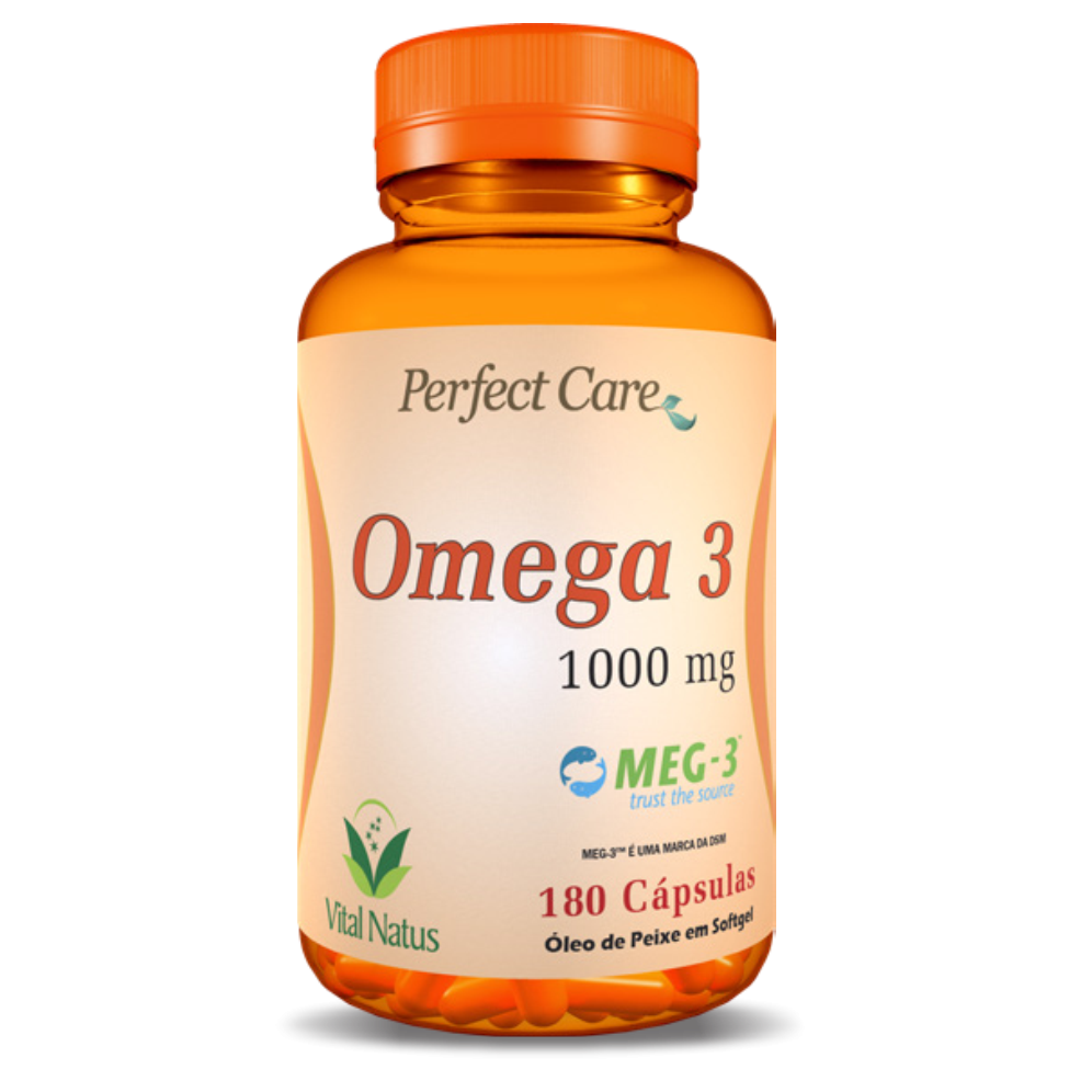 ÔMEGA 3 1G C/180 CÁPSULAS PERFECT CARE